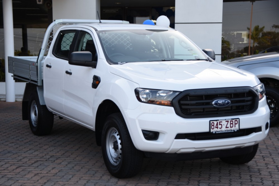 2019 Ford Ranger PX MkIII 4x2 XL Double Cab Chassis Hi-Rider Cab chassis