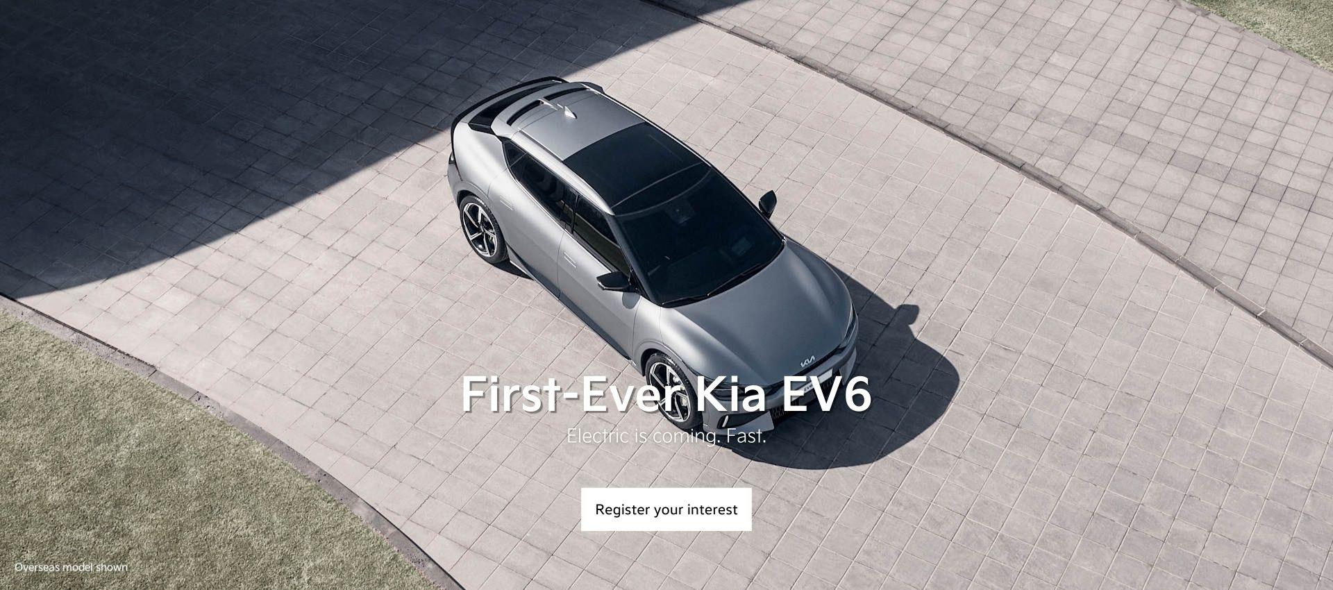 First-Ever Kia EV6