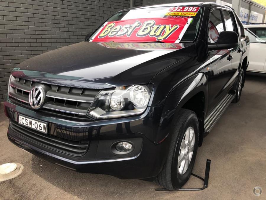 2013 MY14 Volkswagen Amarok 2H  TDI400 TDI400 - Trendline Utility - dual cab