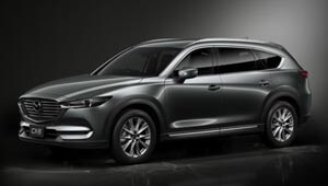 CX-8 The streamlined seven-seat SUV