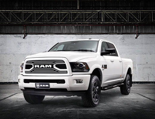 Laramie 2500 Sport Appearance INTRODUCING THE RAM 2500 LARAMIE SPORT APPEARANCE TO THE 2018 RANGE