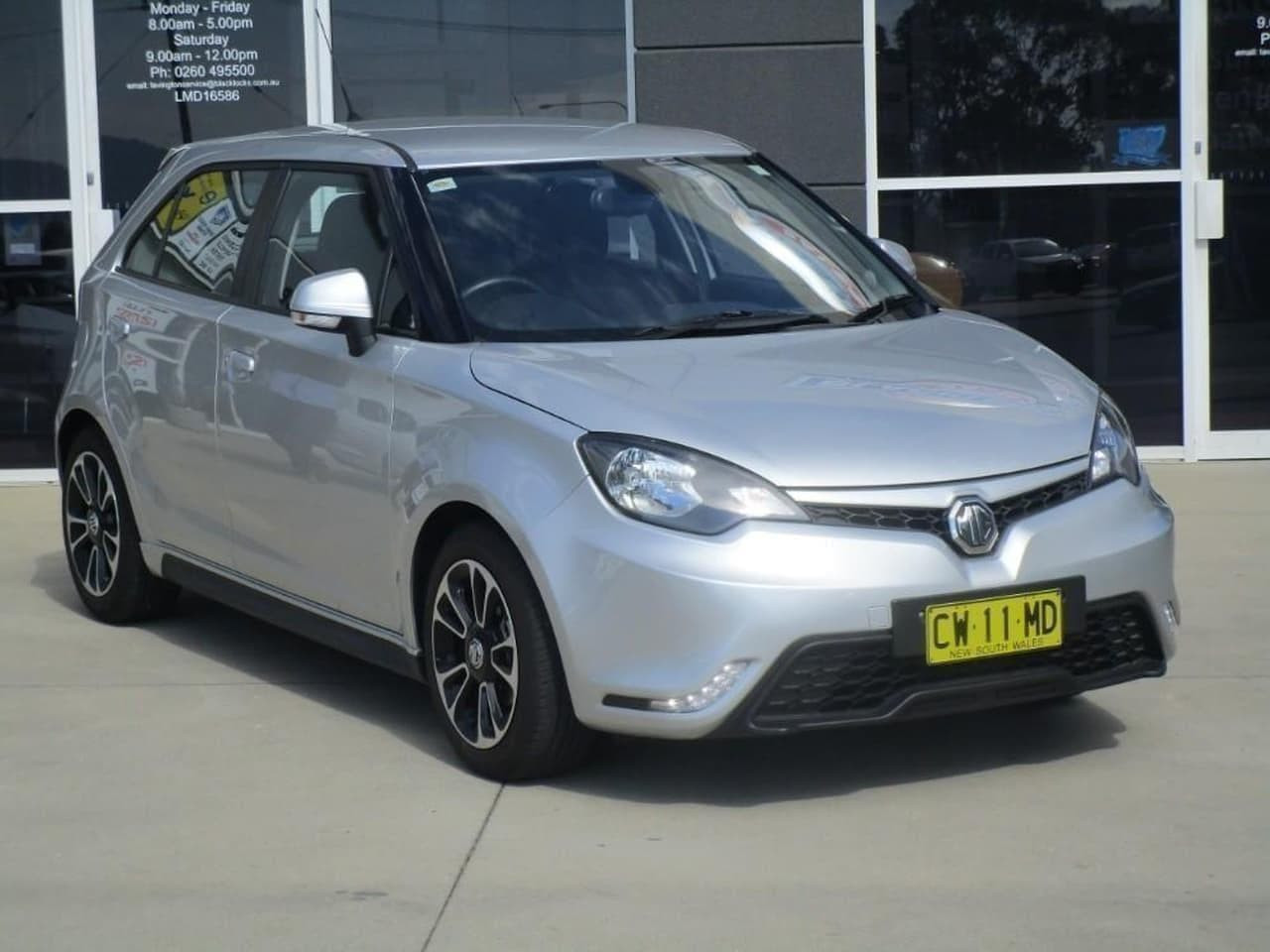 2017 MY18 MG MG3 SZP1 Excite Hatchback