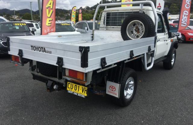 2015 Toyota Landcruiser VDJ79R Turbo Workmate 4x4 t/t/sides