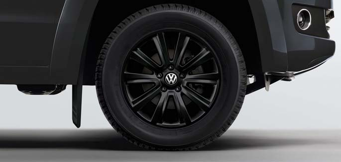 Black Durban alloy wheel