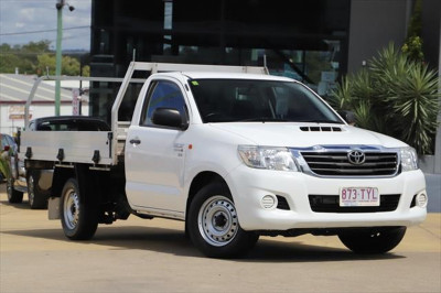 2014 Toyota HiLux KUN16R MY14 SR Cab chassis