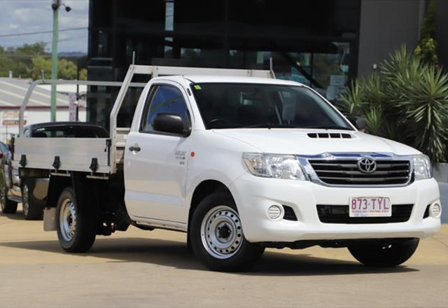 2014 Toyota HiLux KUN16R MY14 SR Cab chassis
