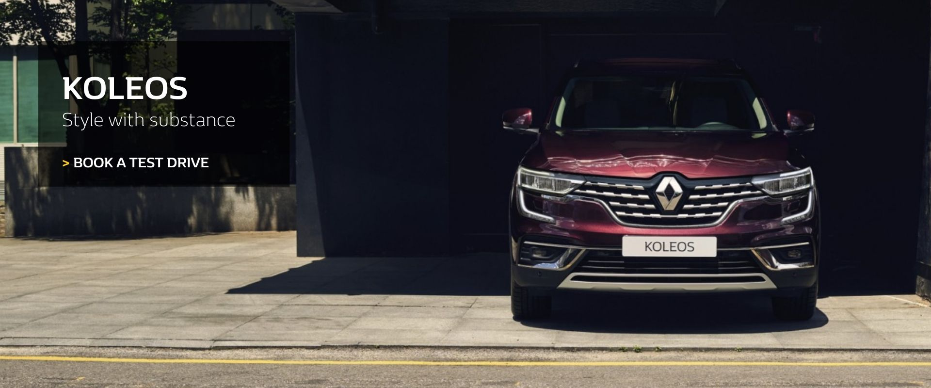 Renault Koleos - Style with substance -  Book a test drive today at DC Motors Renault