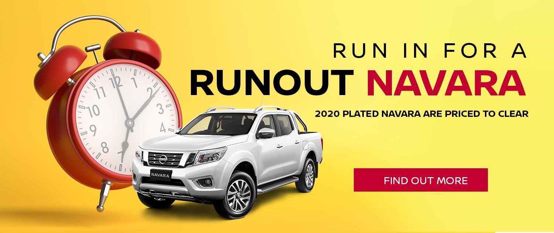 Nissan Navara Run Out