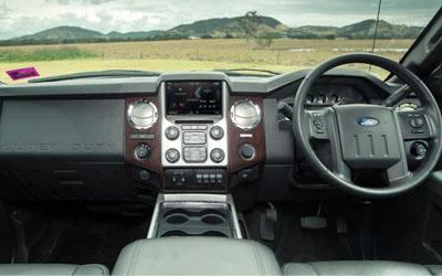 F-Truck 250 King Ranch Interior