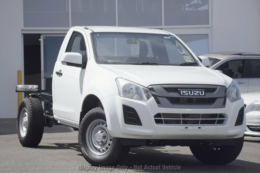 2018 Isuzu UTE D-MAX MY18 4x2 SX Single Cab Chassis High-Ride Cab chassis