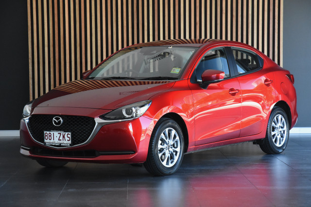 2019 MY20 Mazda 2 DJ Series G15 Pure Sedan