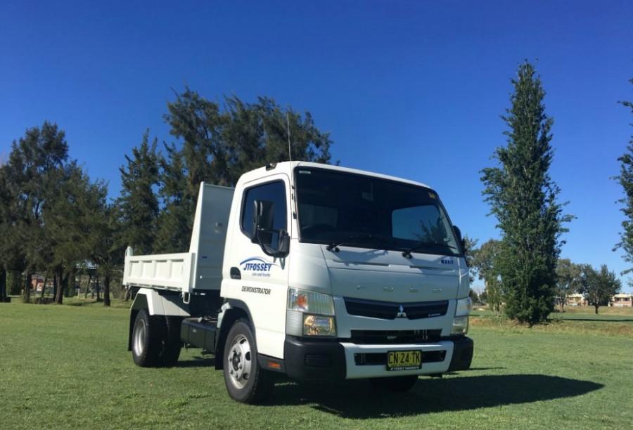 2017 Fuso Tipper 715 Truck