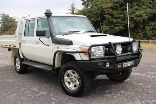 2014 MY13 Toyota Landcruiser VDJ79R  GXL Cab chassis - dual cab