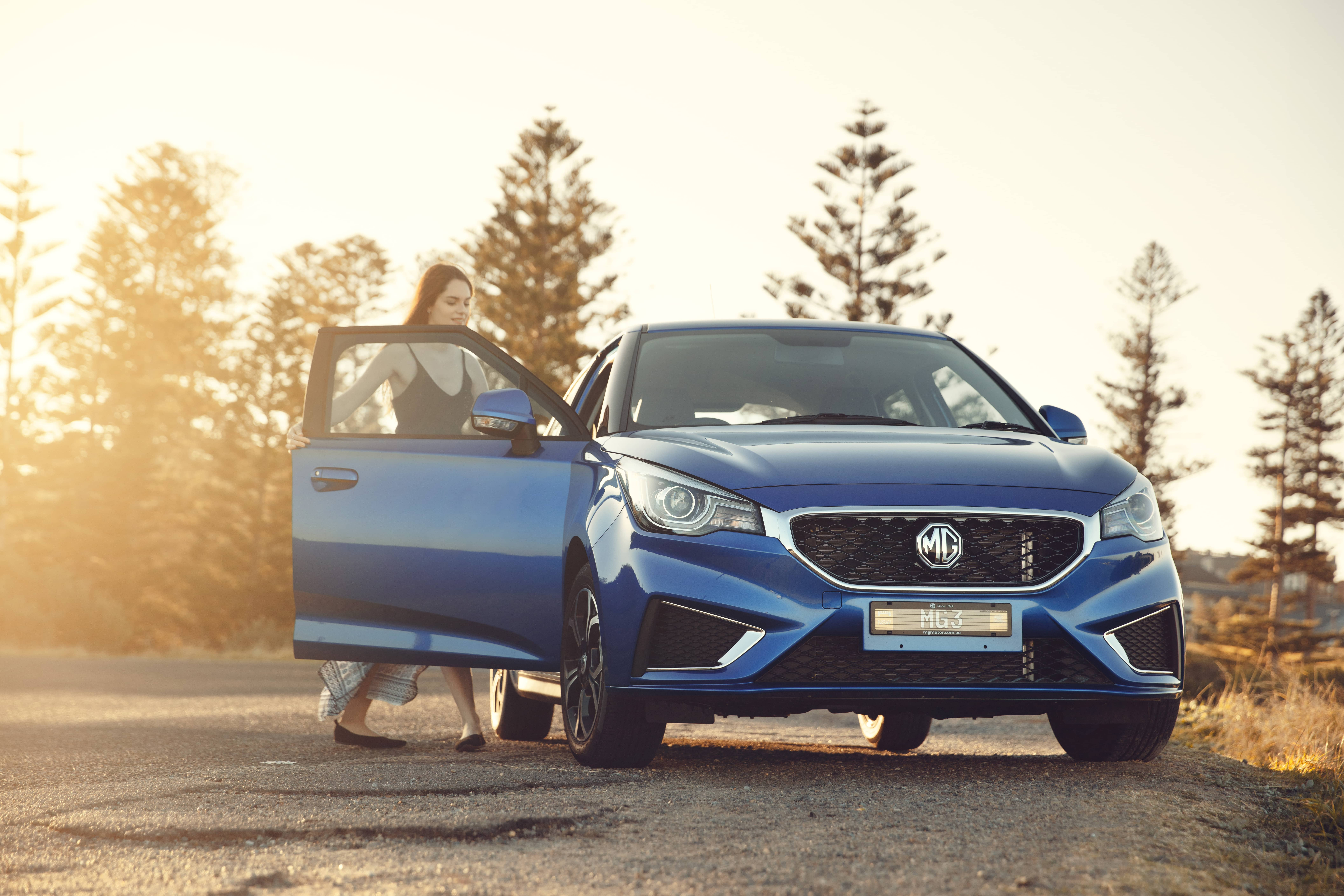 MG3 Automatic lands down under