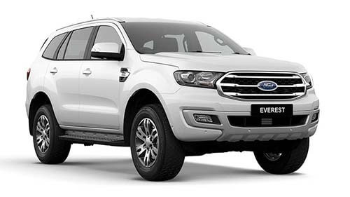 2018 MY19 Ford Everest UA Trend 4WD Suv
