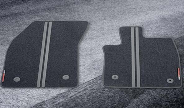 Floor Mats - Ford Performance Style Front