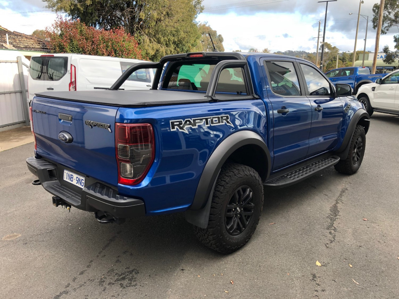 2019 Ford Ranger Raptor PX MkIII Double Cab Pick Up Utility