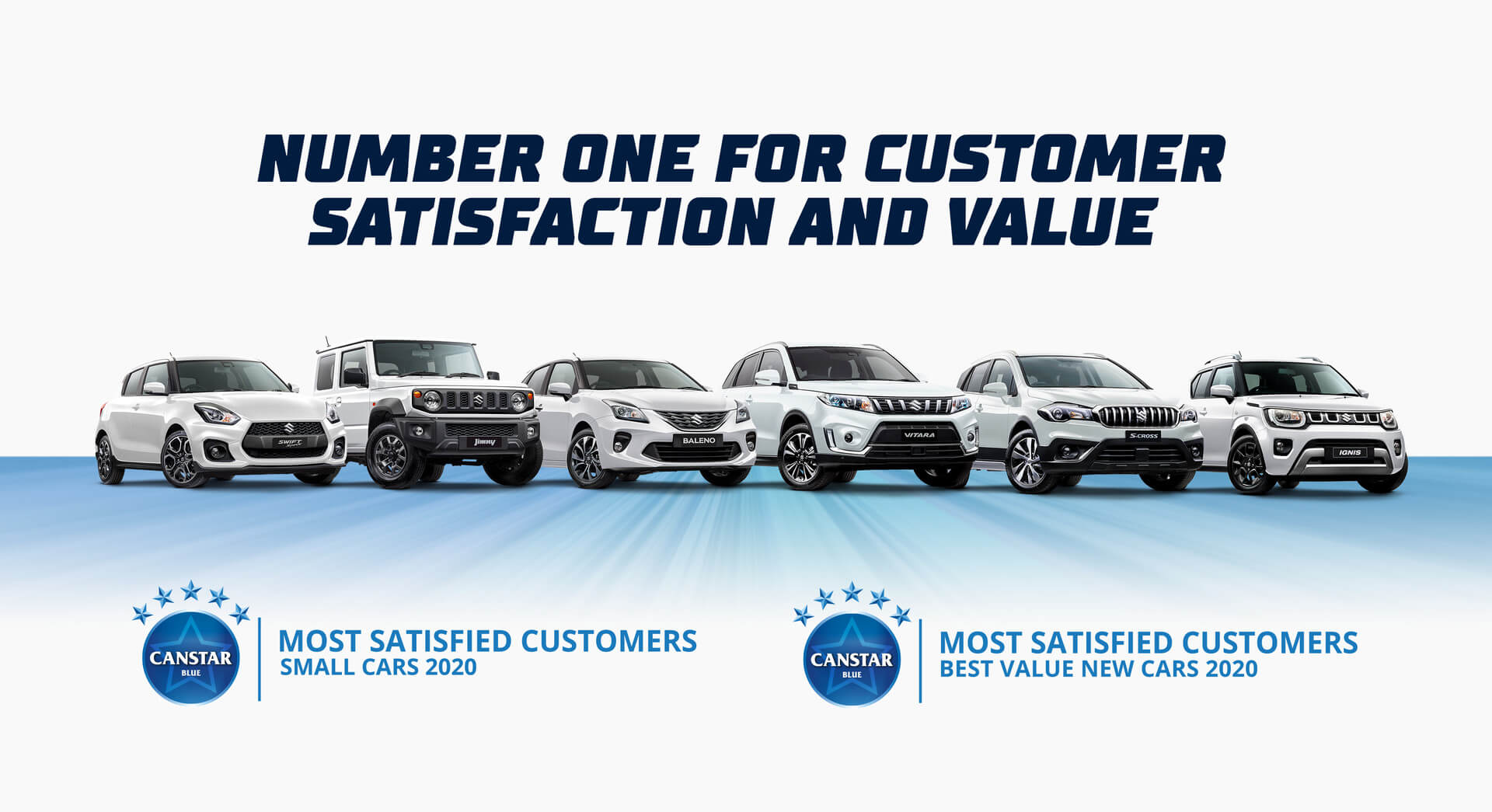 Number one for customer satisfaction and value