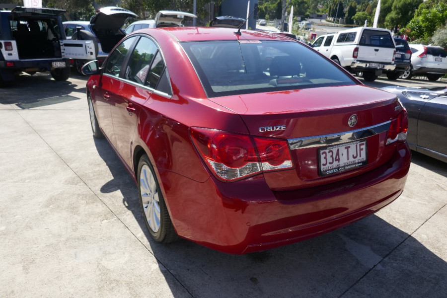 2012 Holden Cruze JH II Sedan