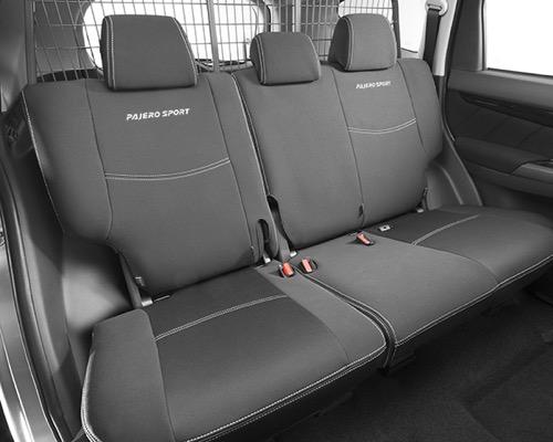 Neoprene seat cover - rear