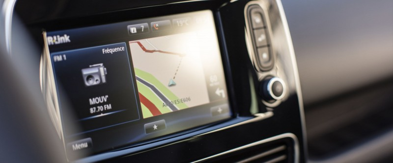 Clio R-LINK Satellite Navigation