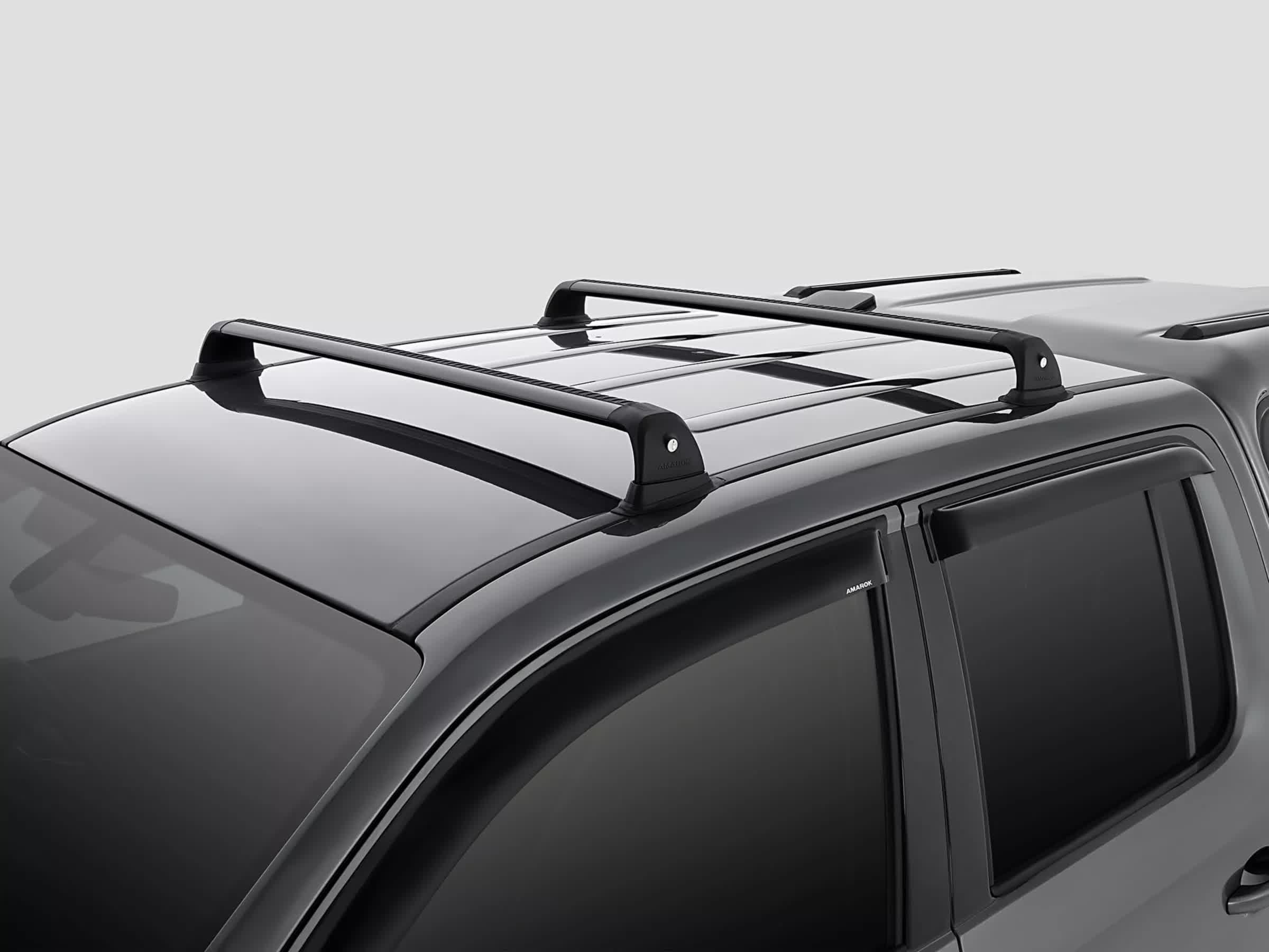Roof racks, flush mount