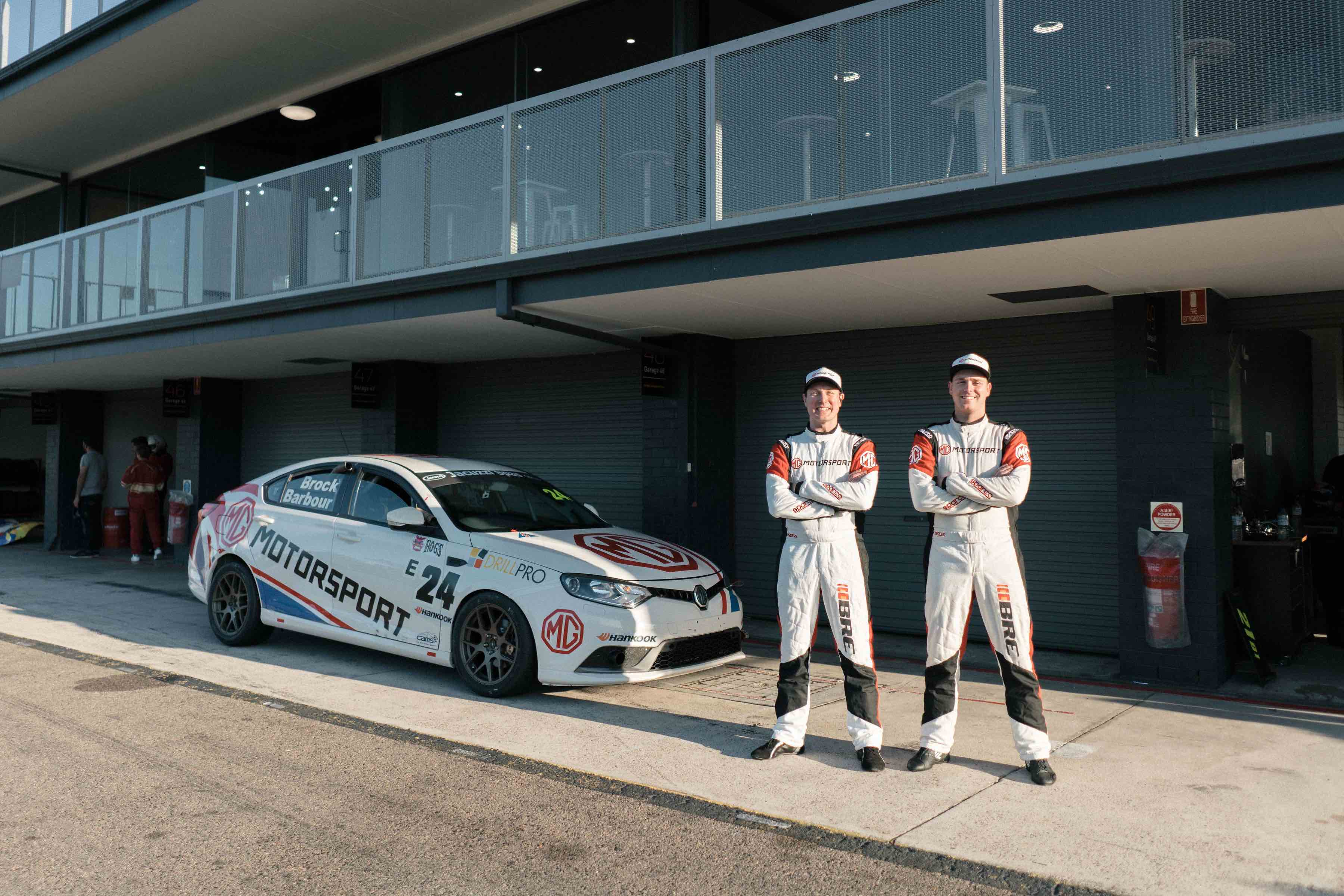 MG Motorsport crowned class champions