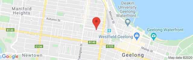 Rex Gorell MG - Geelong West Map