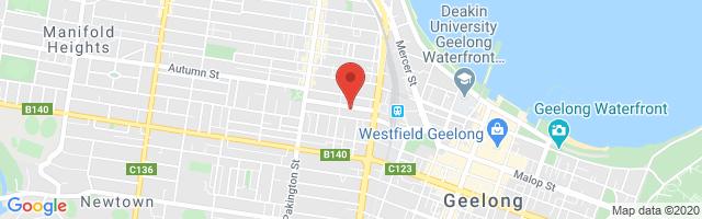 Rex Gorell MG - Geelong West Map