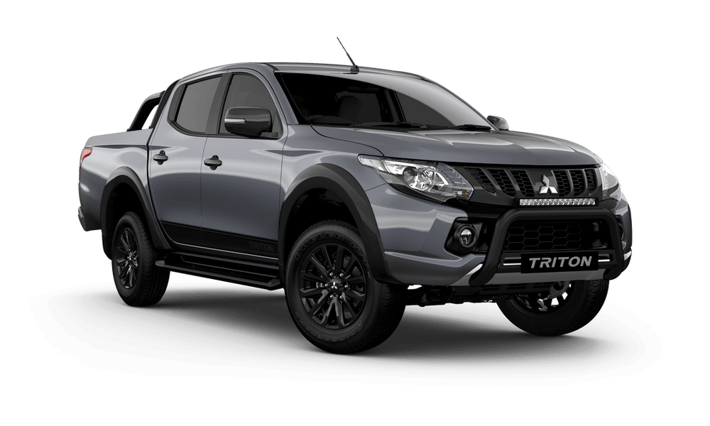 18MY TRITON BLACKLINE DOUBLE CAB - PICK UP 4WD DIESEL MANUAL