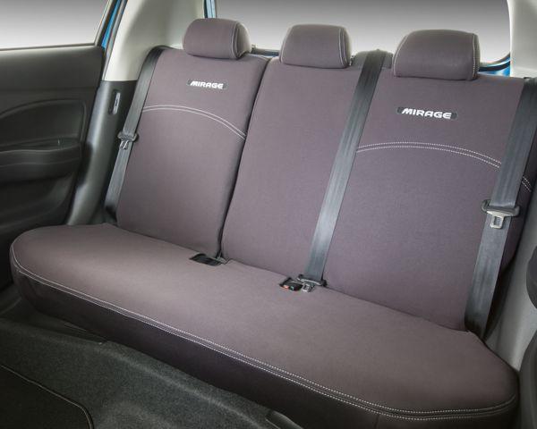 Neoprene seat covers - rear