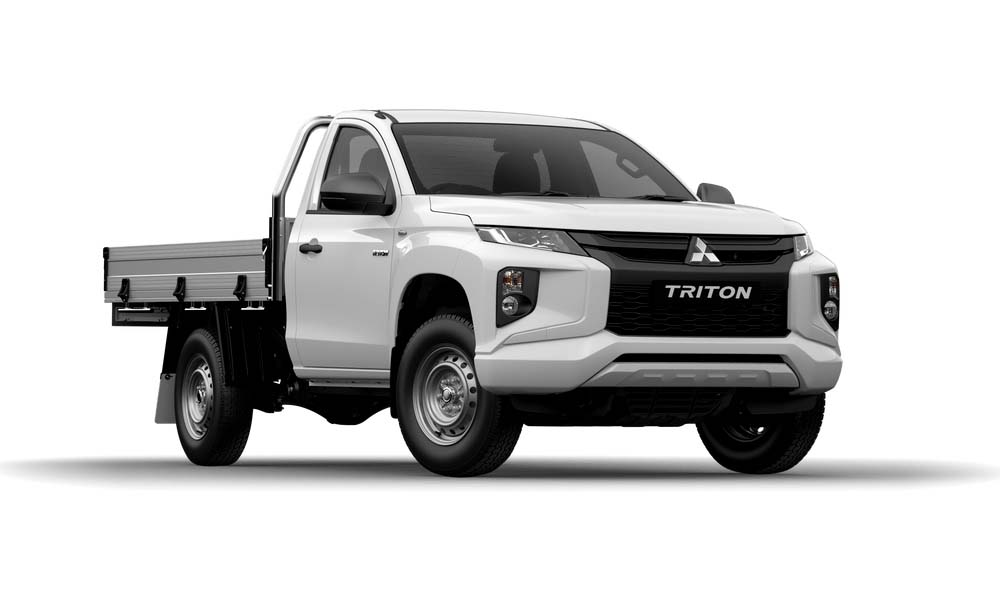2018 MY19 Mitsubishi Triton MR GLX Single Cab Chassis 2WD Cab chassis - single cab