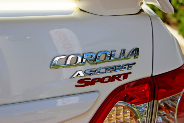 2011 Toyota Corolla ZRE152R  Ascent Ascent - Sport Sedan