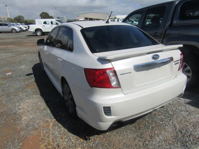 2010 Subaru Impreza G3 MY10 WRX Sedan