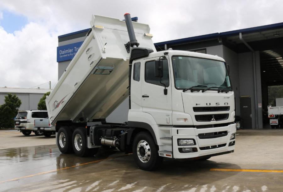 2018 Fuso Heavy TIPPER 455HP FV54 6X4 Tipper