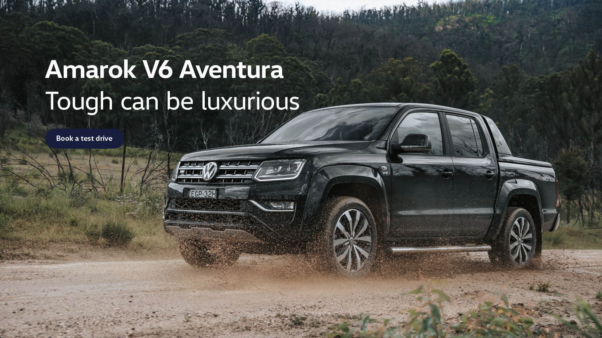Amarok V6 Aventura. Tough can be luxurious