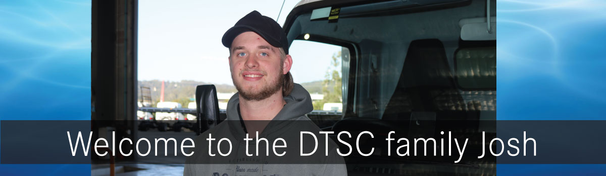WELCOME JOSH - APPRENTICE TO THE DTSC FAMILY