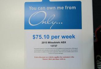 2015 MY15.5 Mitsubishi ASX XB MY15.5 XLS 2WD Wagon