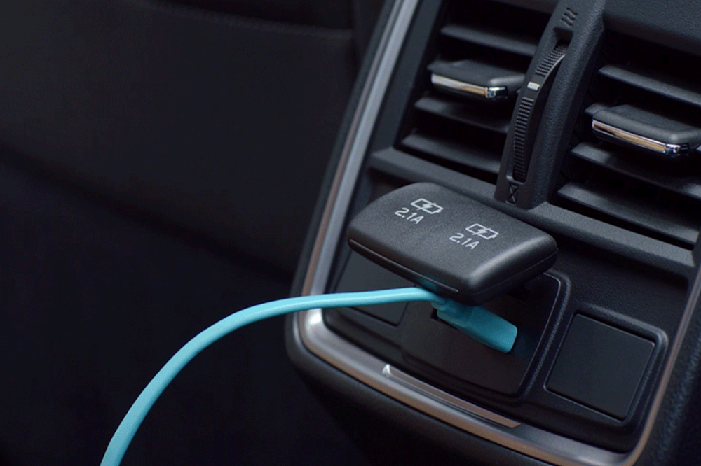 Forester Quick-Charge Rear USB Ports