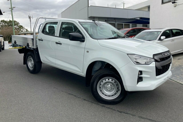 2020 MY21 Isuzu UTE D-MAX SX 4x4 Crew Cab Chassis Cab chassis Mobile Image 1