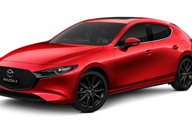 2020 Mazda 3 BP G25 GT Hatch Hatchback