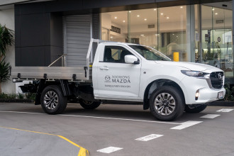 2021 Mazda BT-50 TF XT 4x2 Single Cab Chassis Cab chassis Image 3
