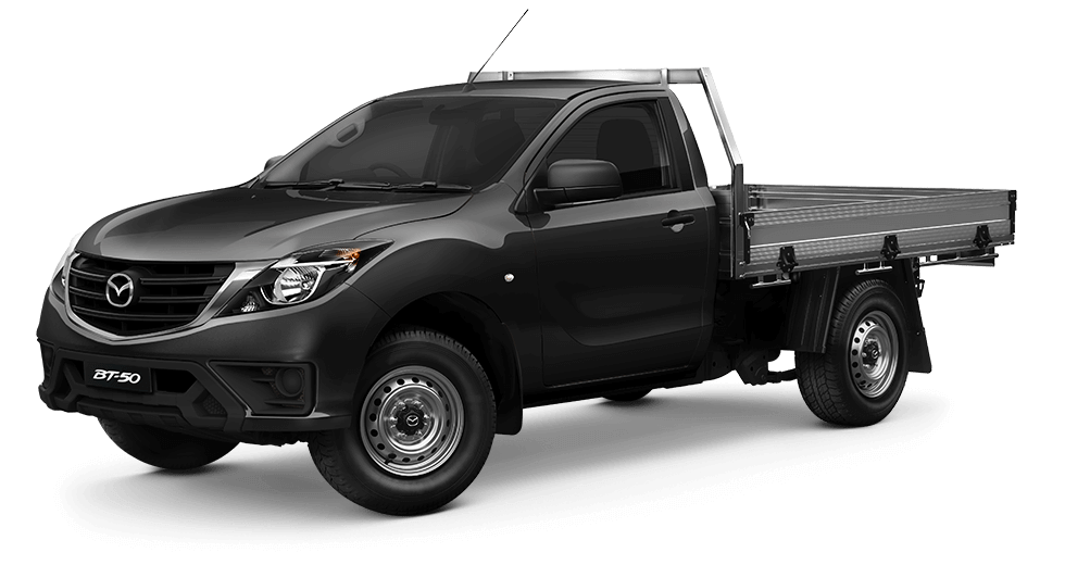 New-Look BT-50 Single Cab | 4x4 XT with tray