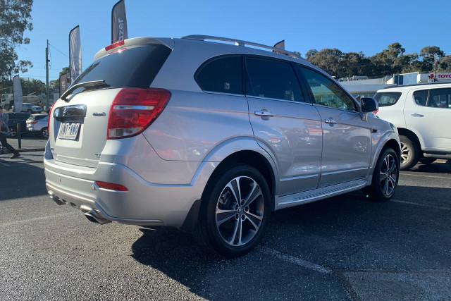 2018 Holden Captiva LTZ