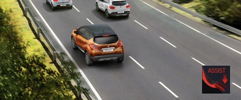 Captur Brake Assist