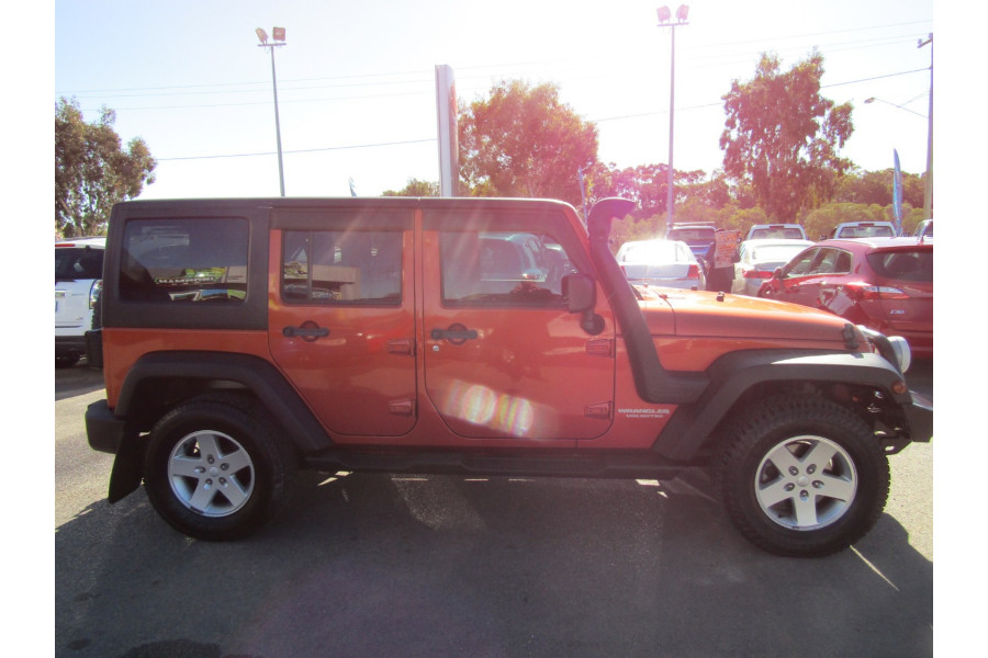 2011 Jeep Wrangler JK MY2011 UNLIMITED Softtop