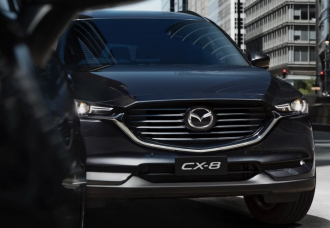 NEW MAZDA CX-8 DIESEL AWARDED 5 STAR SAFETY RATING