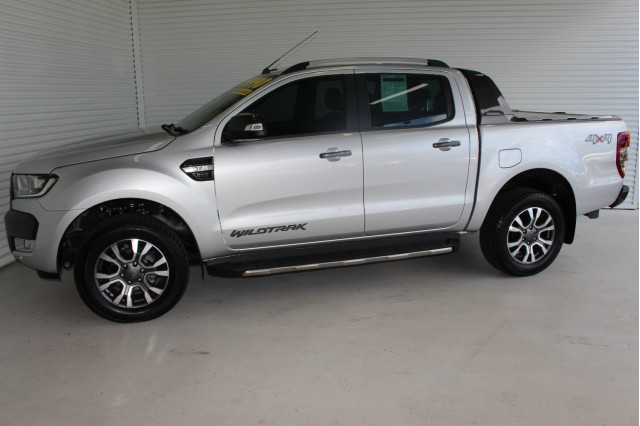 2017 Ford Ranger PX MkII 4x4 Wildtrak Double Cab Pickup 3.2L Utility Image 5