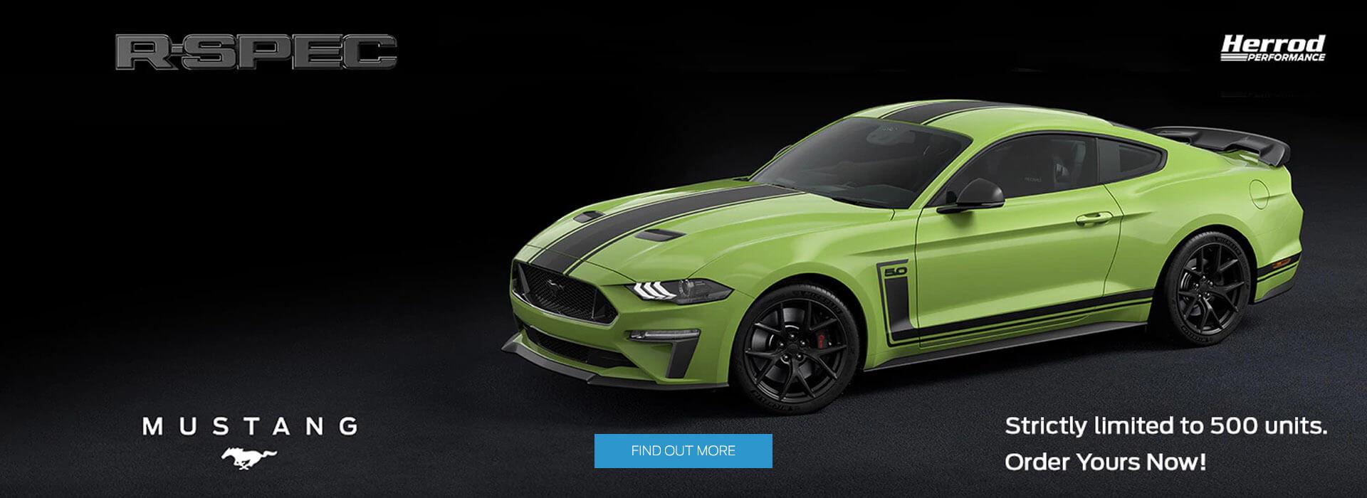 Gateway Ford Mustang R-SPEC