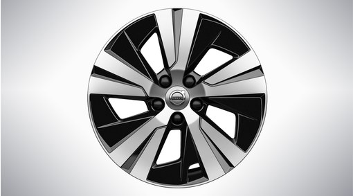 "17"" 5-Spoke Black Diamond Cut - 1047"